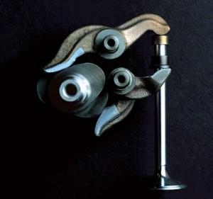 desmodromic valve system DUCATI 2