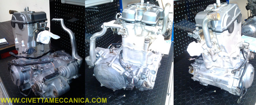motor completo yz426f 2
